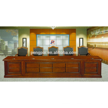 4.8 5m dignified government agency conference table customized