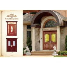 Pole-heiße Verkaufs-Entwurfs-einzelne Stahl-hölzerne Türen