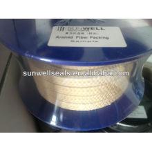 Embalagem de fibra de aramida amarela
