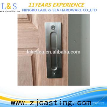 Barn Door Flush Finger Pull Hidden Handle for Sliding Door
