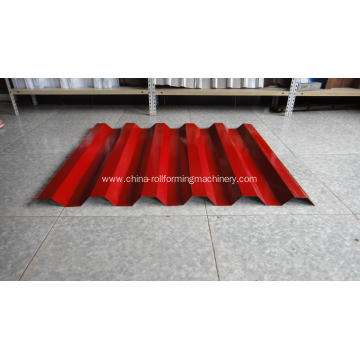 Color Steel Roof Step Tile Roll Forming Machine