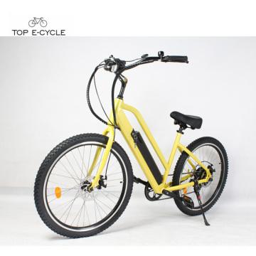 Günstigen Preis neues Modell Elektro-Fahrrad in China / Elektro-Strand Cruiser Bike gemacht