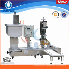 Halbautomatische flüssige Füllmaschine mit Capping