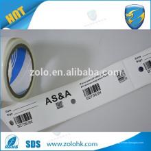 Uso personalizado contra la falsificación Etiqueta VOID con números aleatorios de código de barras