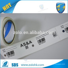 Custom Anti-counterfeiting use VOID Label with bar code random numbers