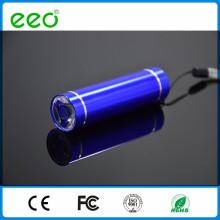 Führte Aluminium Mini LED-Taschenlampe Hersteller, Werbe-LED-Fackel Großhandel, führte Licht in Bulk