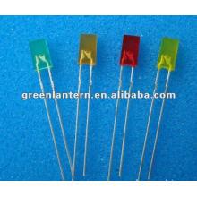 carré conduit diode 2X4x7