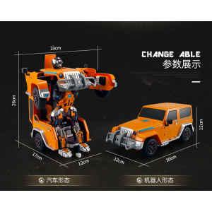 Intelligente Shifting Robot 2.4G RC Distortion Deformation Stunt Cars Remote Robot Toys