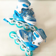 Kids Sports PU Wheels Blue Inline Skate (CK-109)