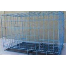 Verzinkte oder PVC beschichtete Hundekäfige