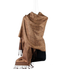 Hot Selling Stole Scarf Ladies Tippet Viscose Echarpe Jaquard Muffler Long