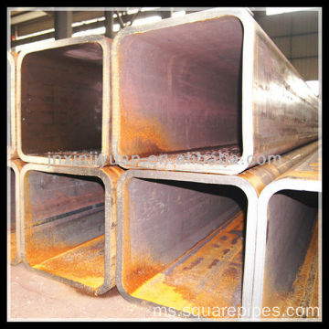 350X550mm JIS G3466 Welded Steel Rectangular Tube