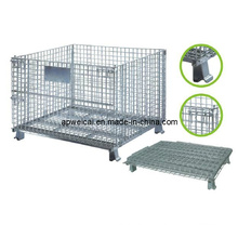 Wire Container, Galvanized, SGS Approved