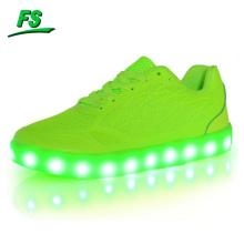 2016 Großhandel Led Frauen Schuhe, Mode führte Frauen flache Schuhe, flache Frauen Schuhe in LED
