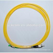 FC / APC-FC / UPC Câble de connexion à fibre optique Simplex SM