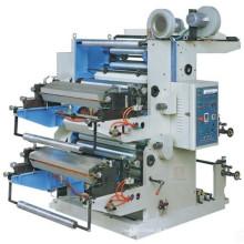 Máquina de impressão deslocada da tipografia de duas cores