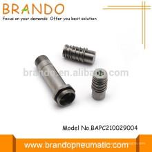 Válvula solenóide de automação pneumática Dc Ac Armature Conjunto de tubo do êmbolo