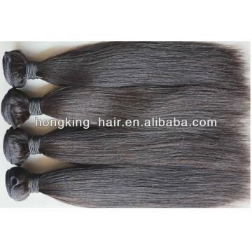 wholesale cheap 100% brazilian hair light yaki straight hair weave