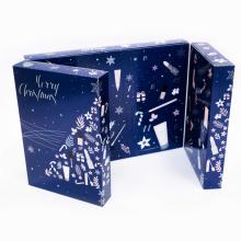 Роскошная коробка для печати на заказ, рождественский адвент-календарь