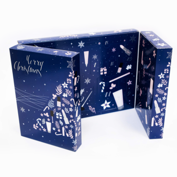 Luxury custom printing window box Christmas advent calendar