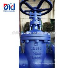 8 Tipo de brida de la válvula de compuerta de acero al carbono Din Din 18 Fabricante de fundición de hierro Rising Sluice 1