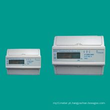 EDR34 Medidor de eletricidade trifásico para trilho DIN