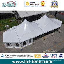 Outdoor Luxury White Roof High Peak Frame Tent for Weddings