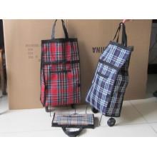 Foldable shopping bags,folding handbags,shopping bag with wheels
