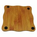tapete de mesa de bambu coaster cup pad