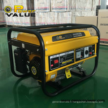 pour Génératrice à essence moyenne Honda Generator 1.5kVA 220V 2500