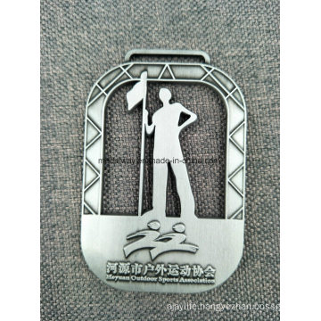 Custom Zinc Alloy Medals with Ribbon for Competition Awards