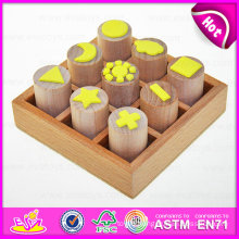 2015 New Style Novelty Wooden Seal Toys, Wooden Stamps Toys Clothing Seal, DIY Wooden Seal Gifts Toy for School Children W01A074