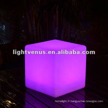 Boîte de nuit de charge d'induction de 30cm, disco LED Cube