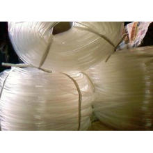 Oil PVC Industrial Rubber Hose White Fibre Braid With Neope
