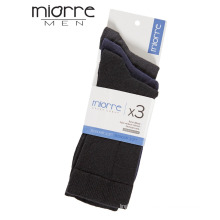 Miorre OEM Quality Yarn Men Cotton Comfortable Socks 3 Pack & Color Variety