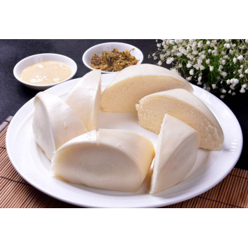 milk steamed bread making by automatic machine