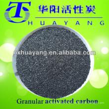 Preço de carbono ativado a granel baseado em carvão de 2-4mm