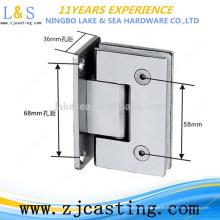 BJ-021 abrazadera de cristal del baño del acero inoxidable del hardware del edificio de la alta calidad de la fundición