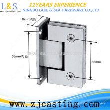 BJ-018 stainless steel glass clamps / glass door hardware