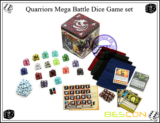 Quarriors Mega Battle Dice Game set-2