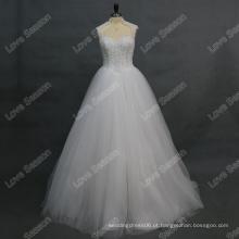 RP0176 vestido de noiva de colar alto 2016 longo trem pesados botões de pérolas vestido vestido de noiva vestido de noiva vestido vestido de noiva