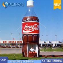 Fábrica gigante publicidad globo personaje de dibujos animados producto réplica modelo inflable