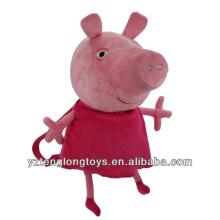 Фабрика оптовых животных Shaped плюшевых рюкзак Свинья рюкзак