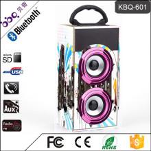 Портативный динамик звук Коробка USB/Блютуз/SD/ГМК mp3 красочный дизайн