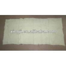 Стриглась 1,5 см Европейский кролик пластины естественный белый цвет 12skins или 9skins