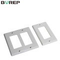UL943 Standard BAREP GFCI plaques de recouvrement d'interrupteur de lumière en plastique