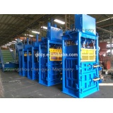 Cloth Packaging Material and Textiles Application Scrap Recycling Used Clothes Baler vertical baler