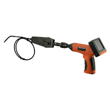 360 degree rotation with 2-ways articulating manual operation inspection