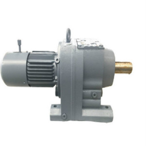 Foot Mounted Helical Gear Electric Motor Speed Reducer