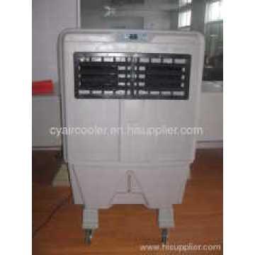 Испарительный воздушный охладитель с подвижной водой